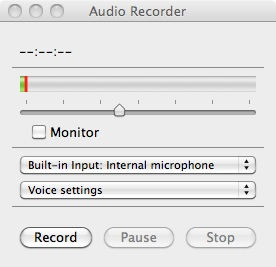 AudioRecorder