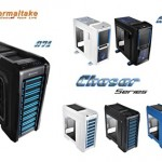 Thermaltake_s Chaser chassis series, refined performance with stunning e-Sportsgaming elements.