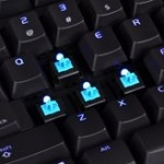 Tt eSPORTS Poseidon Illuminated Mechanical Gaming Keyboard adopts Cherry MX Blue switches. Perfect for the user who prefers a tactile and clicky response.