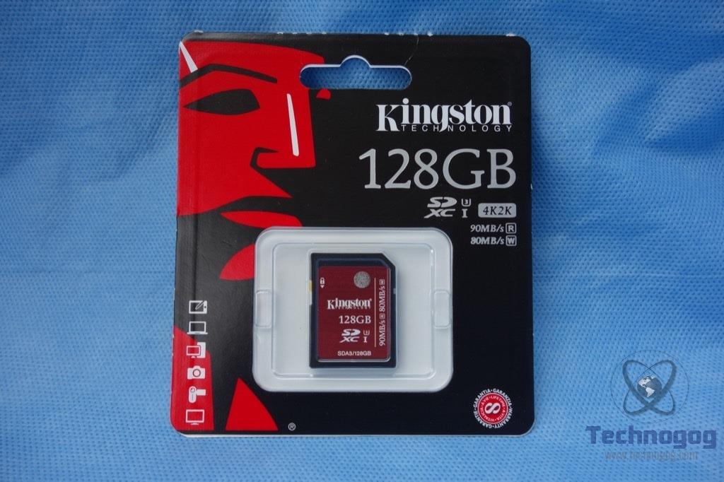 Review Of Kingston Sdhc Sdxc Uhs I U3 128gb Sd Memory Card Technogog