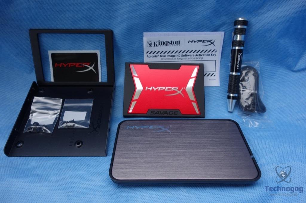 Kingston HyperX Savage 240GB, 2,5