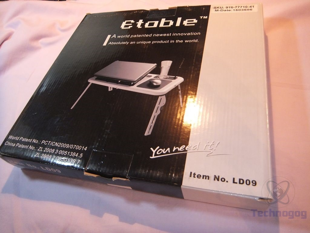 Review Of Ohuhu Foldable Adjustable Lapdesk Laptop Table