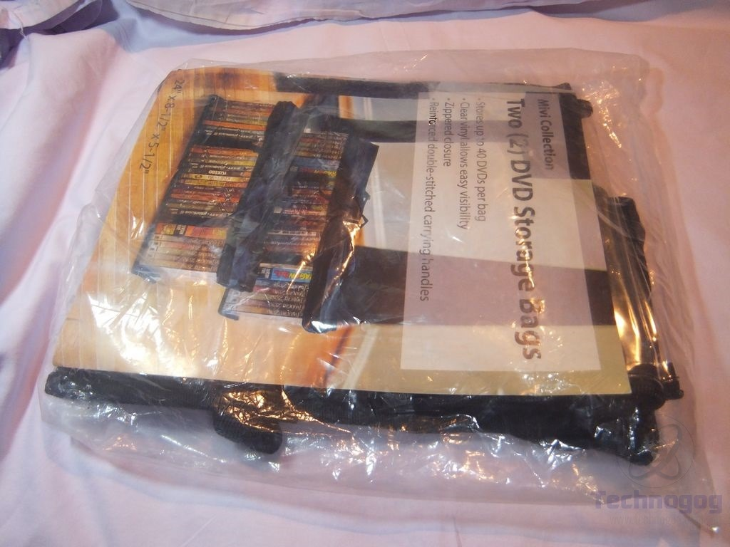 Space Saving Dvd Storage Review Of Mivi Collection Set Of 2 Dvd Storage Bags Technogog