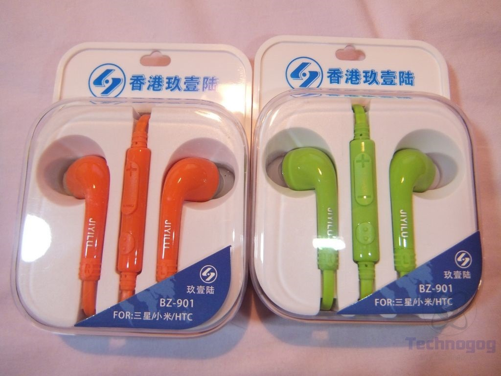 Earbuds orange mic - earbuds with microphone under 10