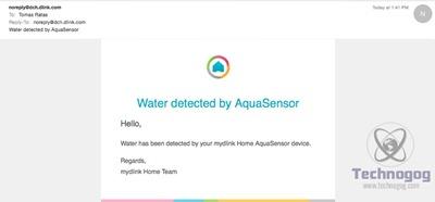 DLink Water Sensor 37