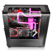 Thermaltake View27 Gull-Wing Window ATX Mid Tower Chassis _3