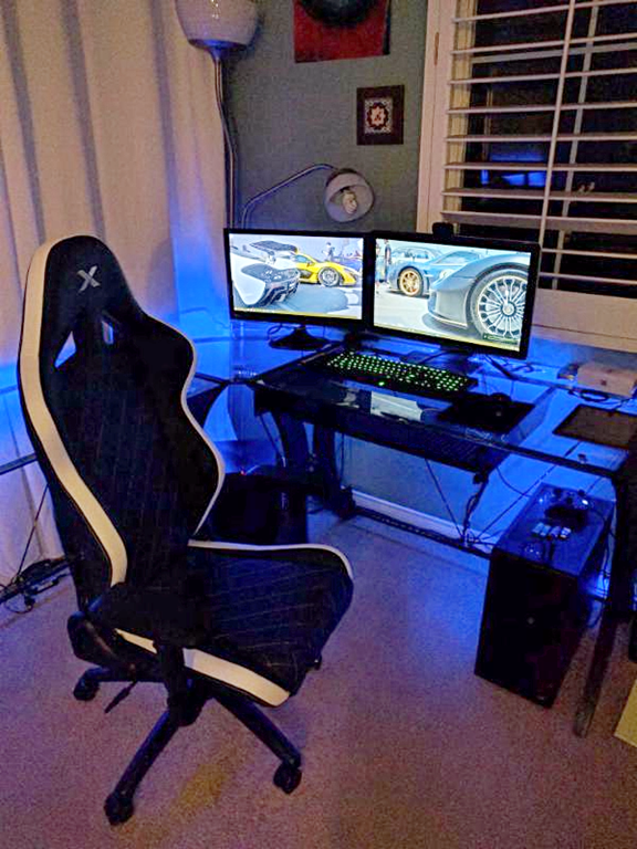 Image Result For Gaming Chair White