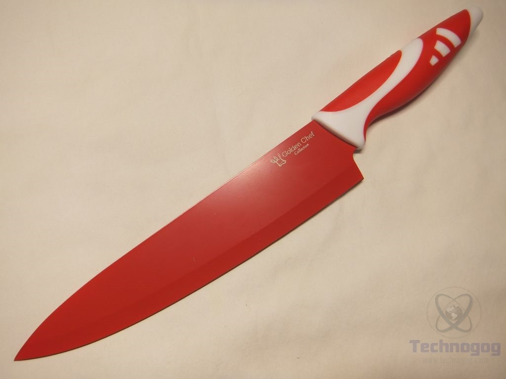 review of golden chef collection 8 piece knife set technogog