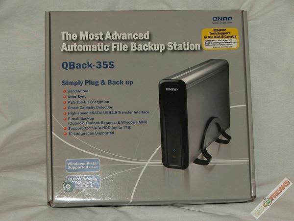 QNAP QBack-35S Hard Drive Enclosure Reviewed | Technogog