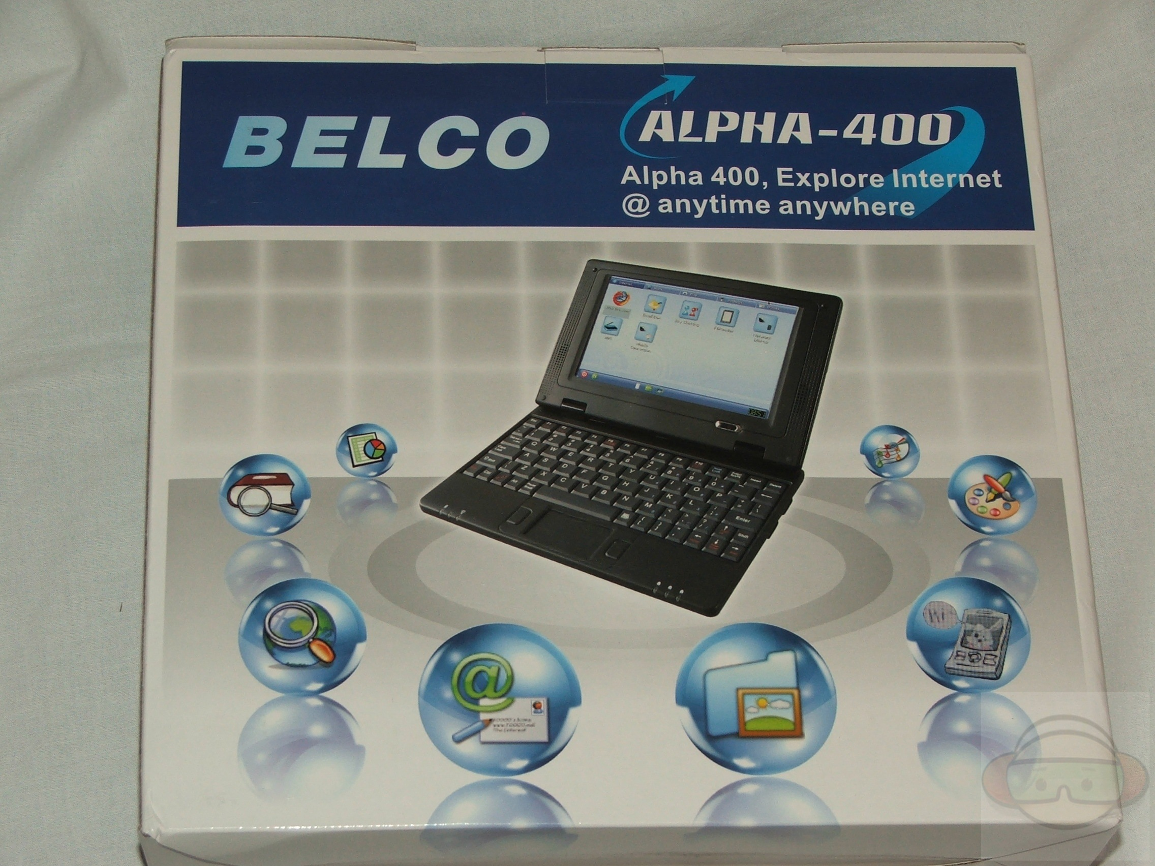 Alpha 400 MIPS 400MHz 128MB 1GB 7″ Linux Ultralite Notebook