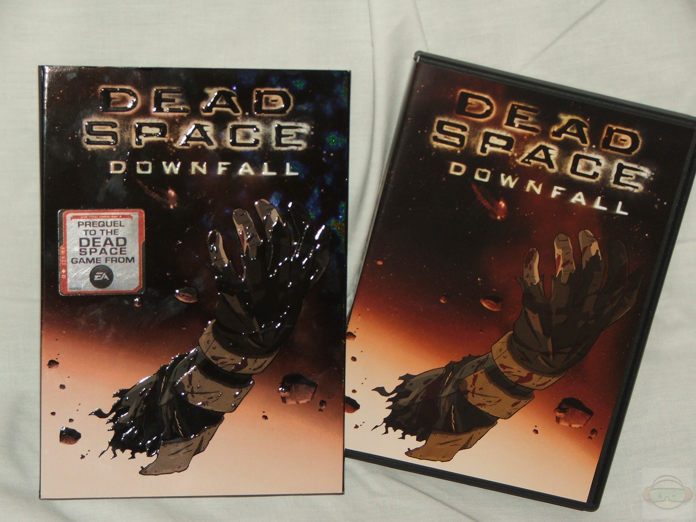 Dead Space Downfall Dvd Review Technogog