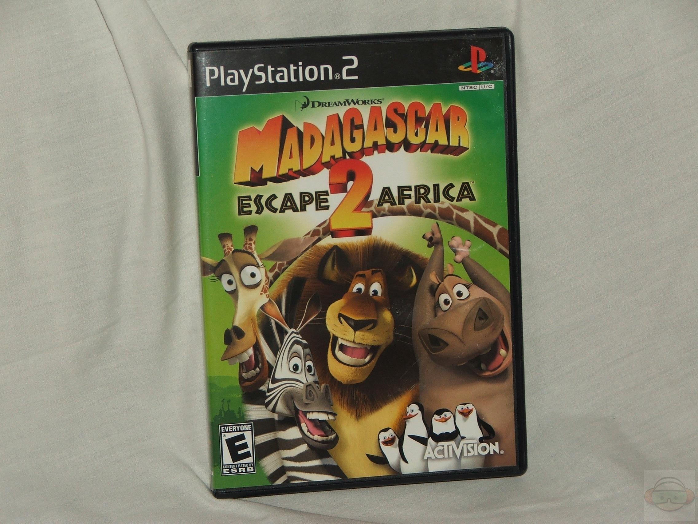 Madagascar 2 Escape 2 Africa PS2 | Technogog