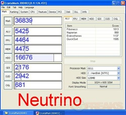 crystalmark neutrino