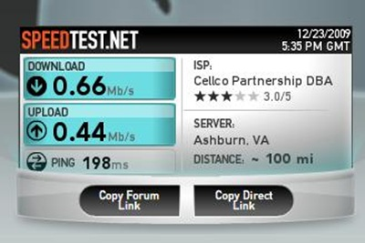speed test net verizon