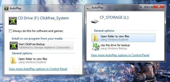 Review of 16gb Clickfree Traveler Automatic Backup Solution