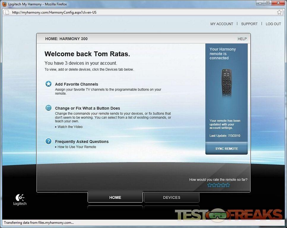 Review of Logitech Harmony 300i Remote | Technogog