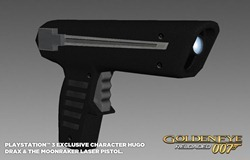 GoldenEye 007 Reloaded_Moonraker Laser Pistol_PS3 exclusive
