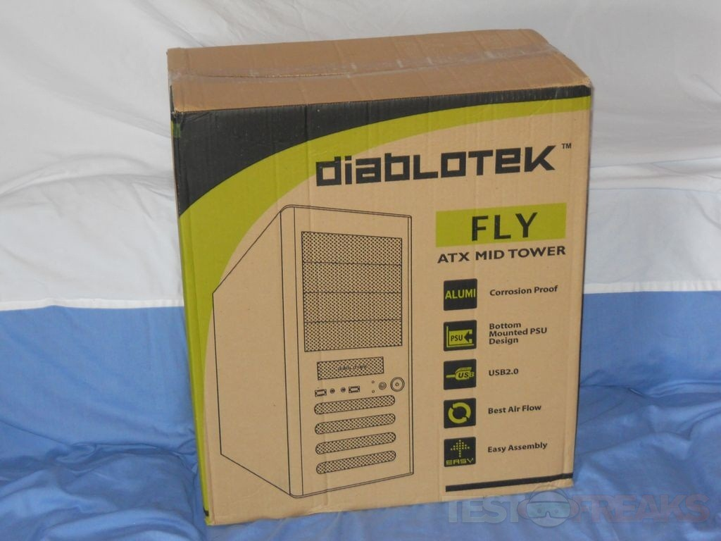 Review of Diablotek Fly ATX Mid Tower PC Case | Technogog