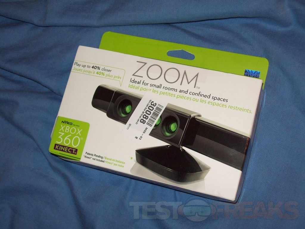 Review of Nyko Kinect Zoom Lens Kit   Technogog
