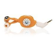 Memorex IE300 Easy Listening In-Ear Earphones in Orange High Res Photo