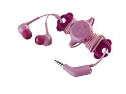 Memorex IE600 Phone Control Ear Phones in Rose High Res Photo