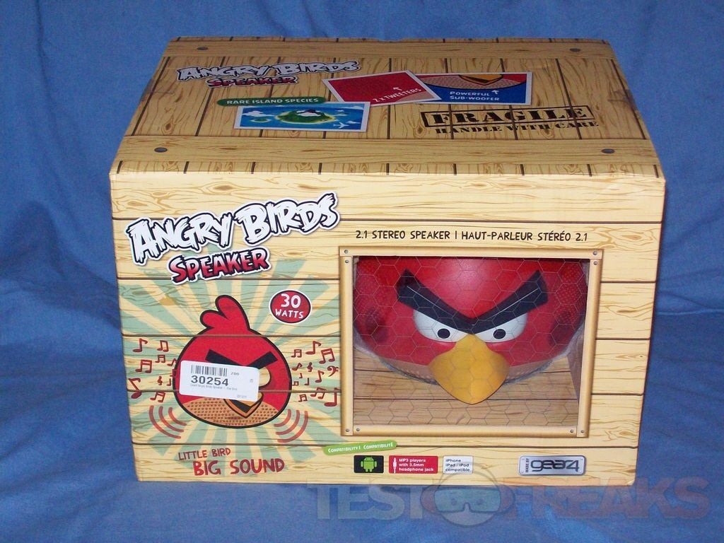 37d86480d3 So it's a speaker, it's an angry looking bird, it's an Angry Bird speaker.  Is it worth it, I have to say yes, especially if you're an Angry Birds fan.