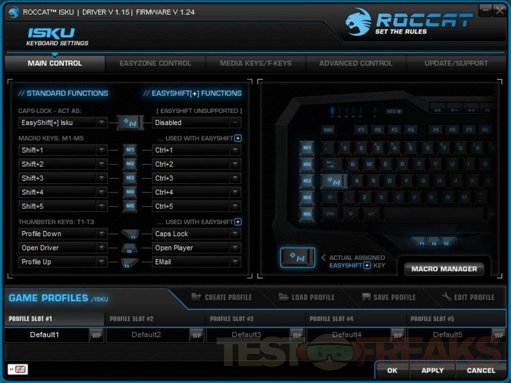 Review of ROCCAT Isku Illuminated Gaming Keyboard | Technogog