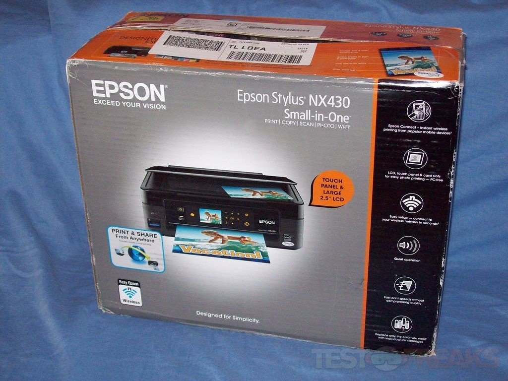 Review of Epson Stylus NX430 Small-in-One All-in-One Printer | Technogog