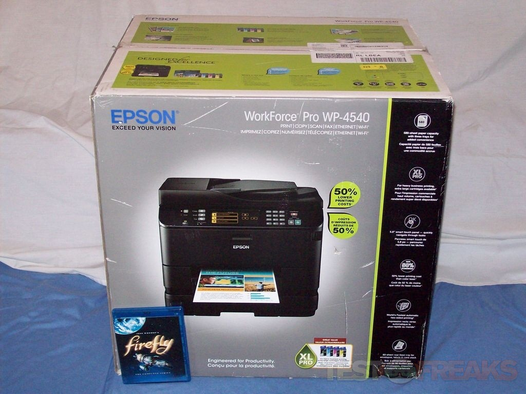 Review of EPSON WorkForce Pro WP-4540 All-in-One Printer