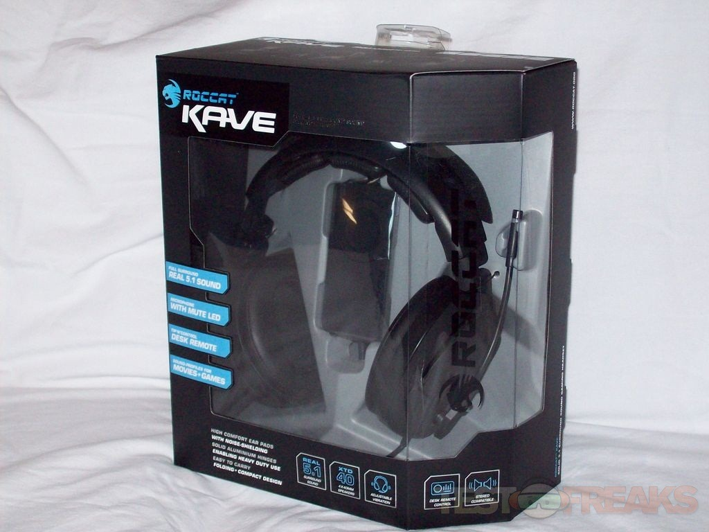 70077555592 The Roccat Kave Gaming Headset is an amazing product when it comes to gaming  and movies, using this headset you'll truly be immersed in the experience.