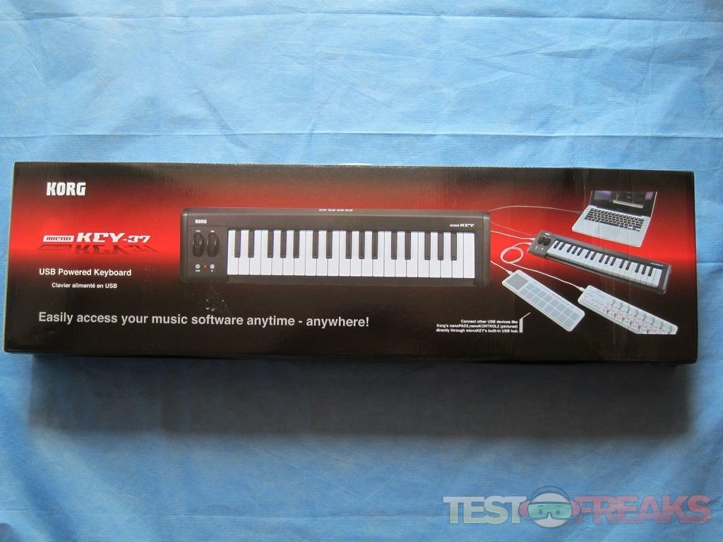 Review of Korg microKEY37 USB MIDI Keyboard | Technogog
