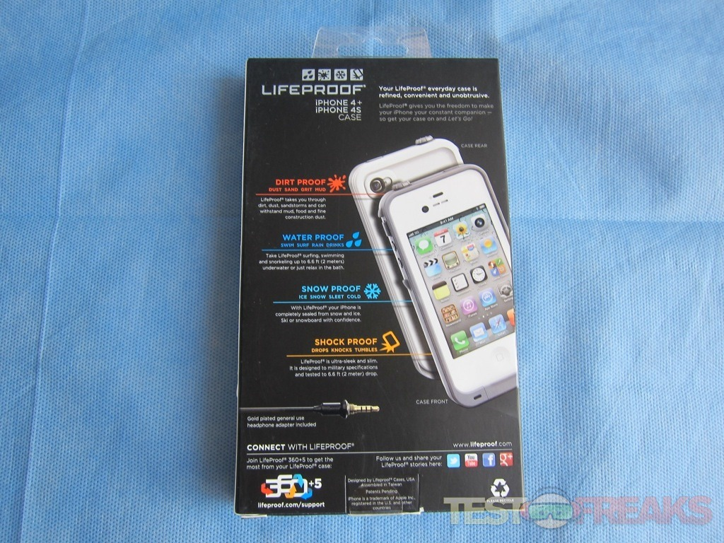 innovative design 9e6ac 2984a Review of LifeProof iPhone 4/4S Case | Technogog