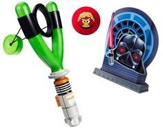 Hasbro Angry Birds Star Wars Koosh Jedi Slingshot