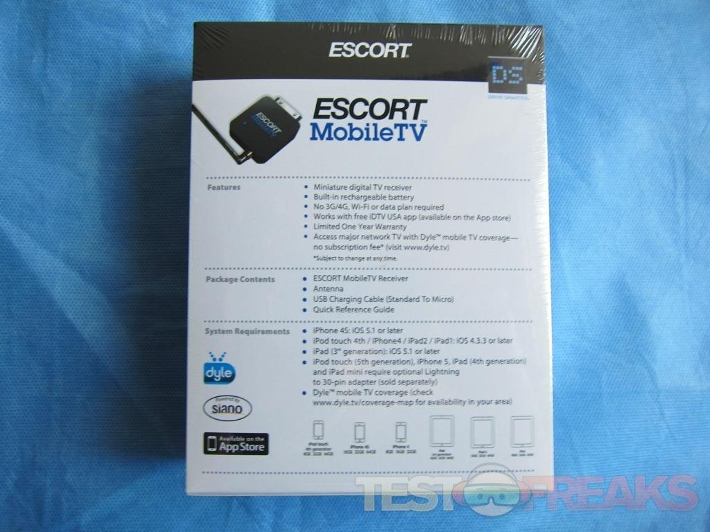 Review of Escort MobileTV iOS TV Adapter | Technogog on