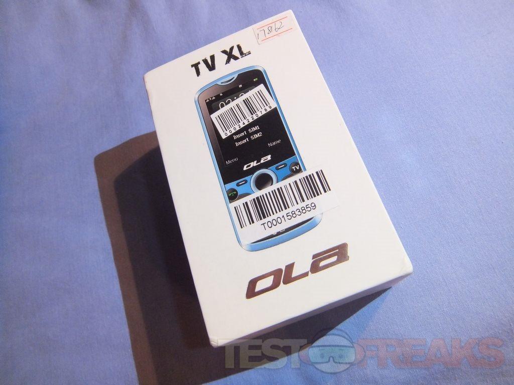 Review of OLA TV XL GSM Dual Sim Bar Style Cellphone | Technogog