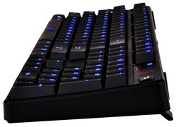Tt eSPORTS Poseidon Illuminated Mechanical Gaming Keyboard provides the ultimate in plug and play compatibility for both gaming at home and being a lan warrior