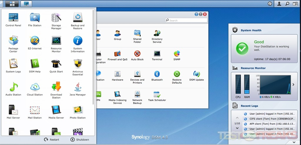 Review of Synology DiskStation DS1513+ NAS | Technogog | Page 5