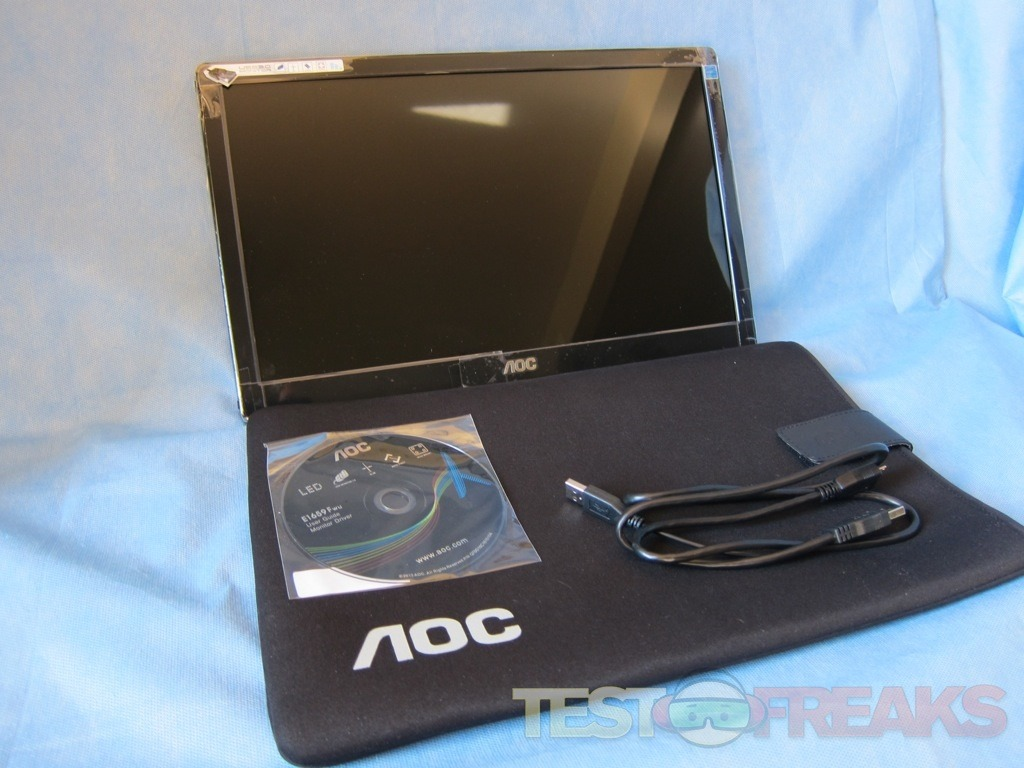 Review Of Aoc E1659fwu Usb Monitor