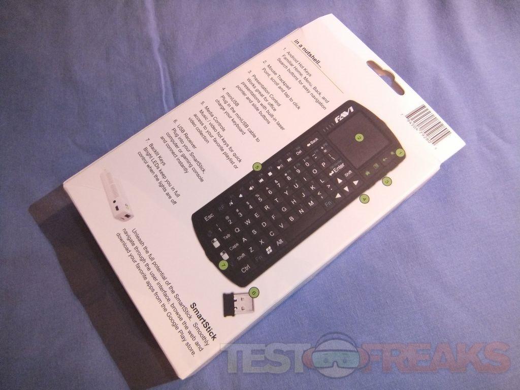 Review of Favi SmartStick Wireless Keyboard   Technogog