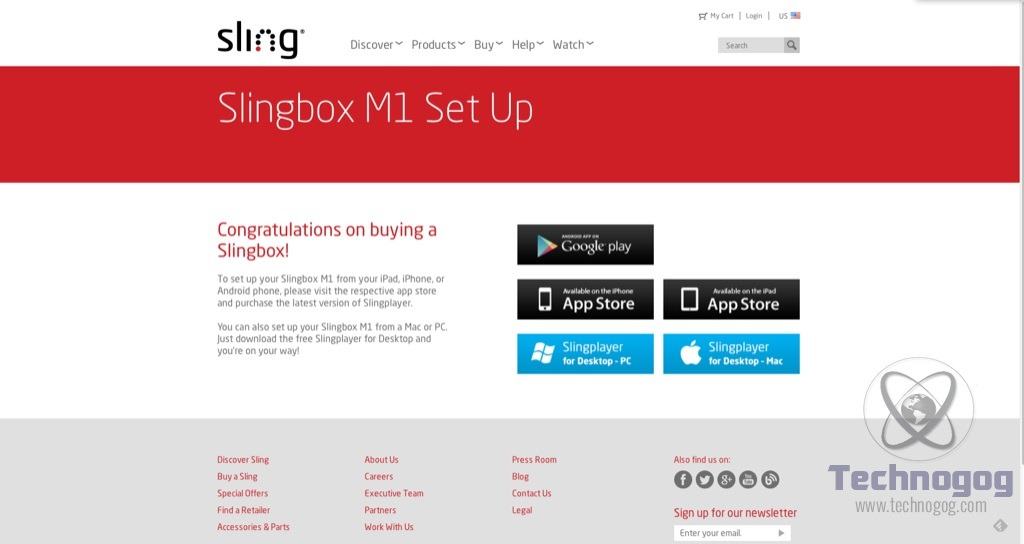 Review of Slingbox M1 | Technogog