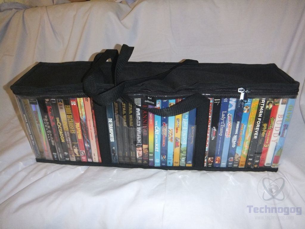 Review Of Mivi Collection Set Of 2 Dvd Storage Bags
