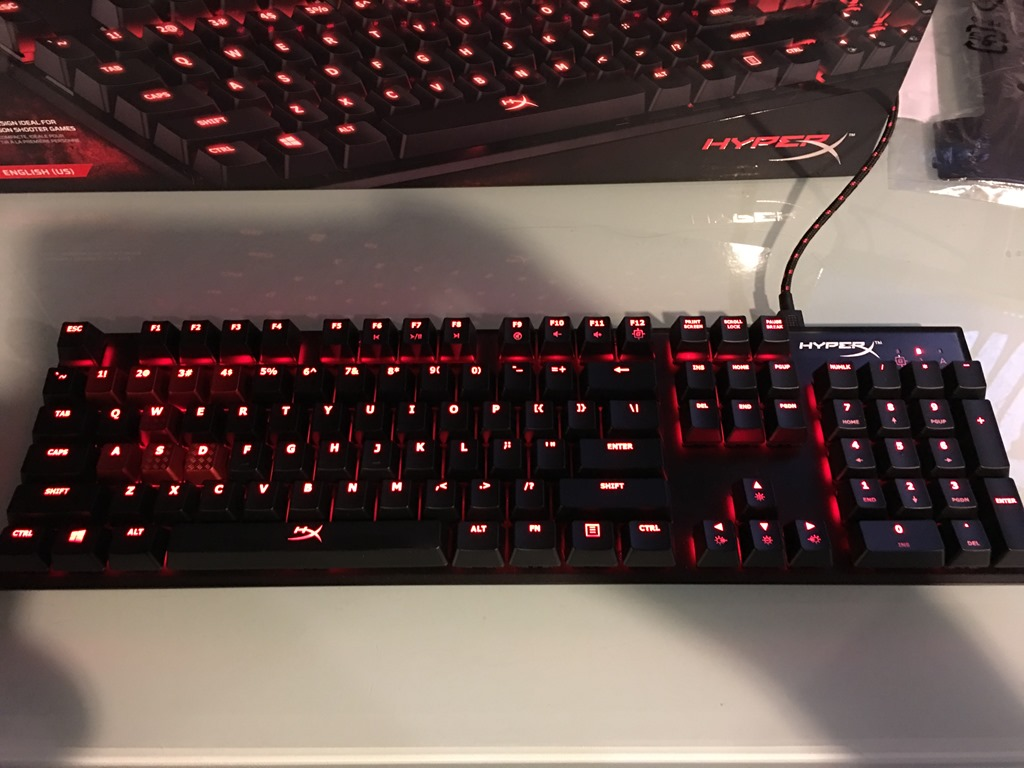 Review Of Hyperx Alloy Fps Mechanical Gaming Keyboard