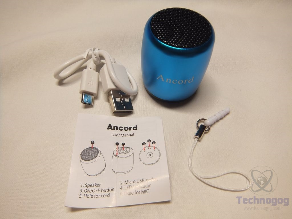 Review of Ancord Micro Bluetooth Speaker  Technogog