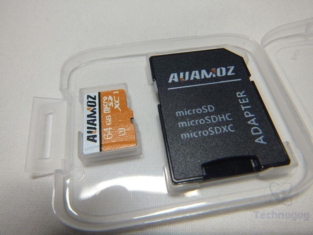 Review of AUAMOZ 64gb UHS-I Micro SDXC Class 10 Memory Card   Technogog