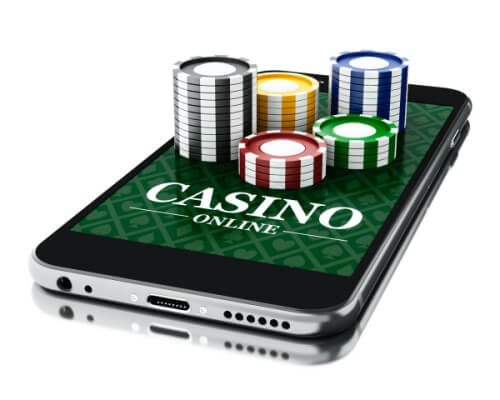Online casino on a phone